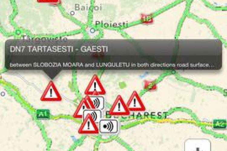 Aplicația TraficOK, disponibilă și în România pe iPhone şi iPad. ADIO blocaje în trafic?