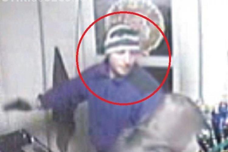 A fost prins tâlharul NAIV de la benzinaria de lângă Turda. Tânărul nu a purtat nici măcar cagulă - VIDEO