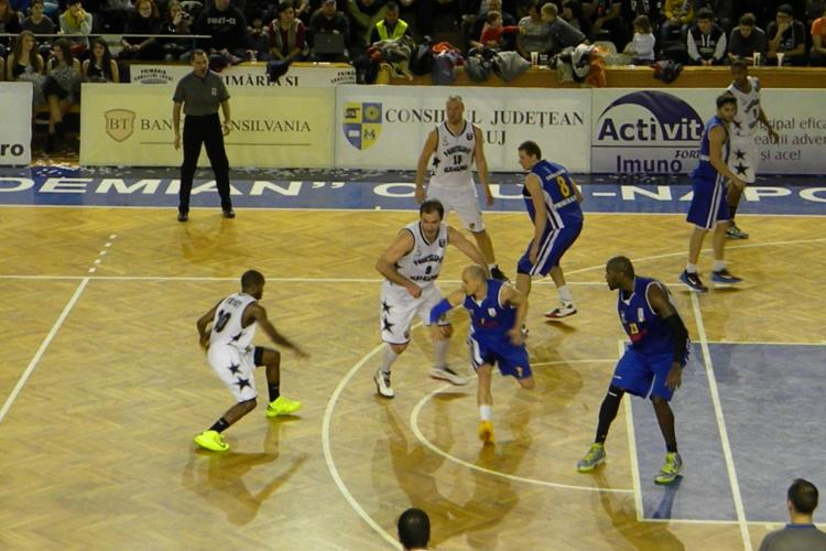 U Mobitelco BT Cluj a învins CSU Sibiu 89-76