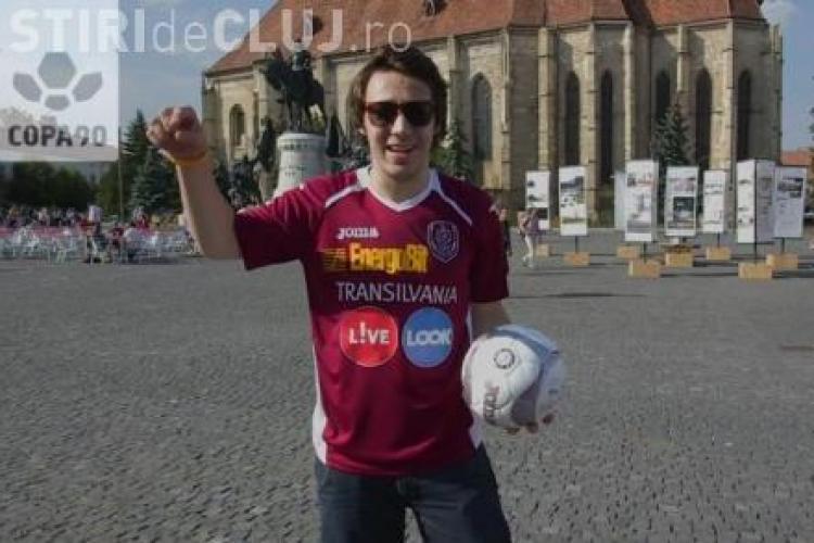 The Eurofan a premiat suporterii CFR Cluj - VIDEO