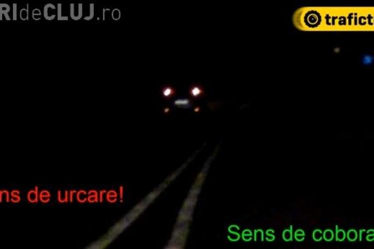Un șofer clujean a făcut ȘOC în trafic când a văzut ACEASTĂ scenă! Se putea produce un accident GRAV - VIDEO