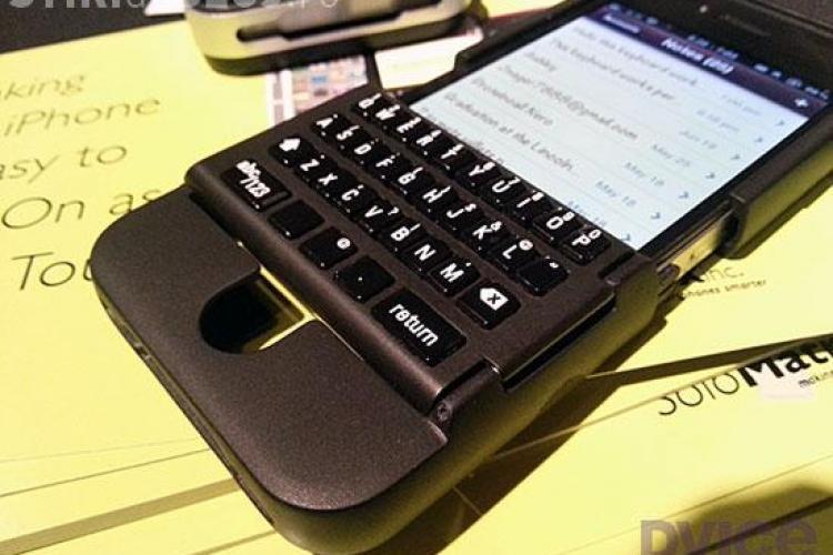 Noul gadget: iPhone-ul cu tastatură. Poate fi un succes?