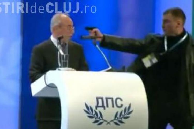 VIDEO ŞOCANT! Tentativă de asasinat în Bulgaria. Pistolul s-a blocat