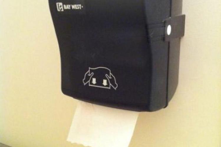 Hârtia igienică dispare din tren în 10 minute, săpunul în 60 de minute