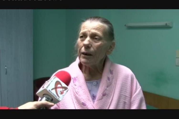 Femeia de 71 de ani, căreia i-a fost extirpată o tumoare de 18 kg, este foarte bine - VIDEO