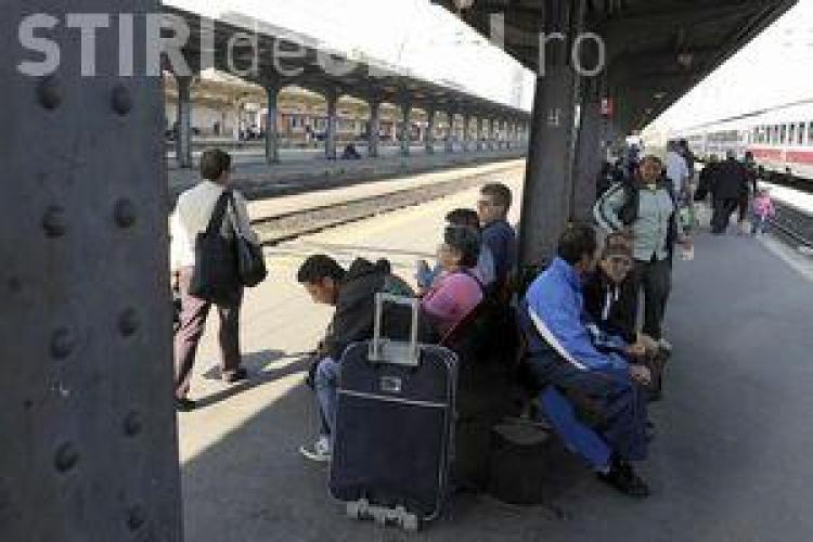 Reduceri de 50% pentru studenţi şi elevi la călătoriile cu trenul