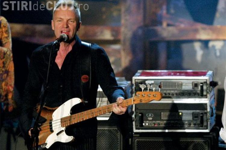 Concert Sting, în 29 iulie, pe Cluj Arena. E mai ieftin ca Robbie Williams
