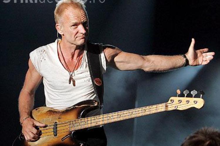Anunț fals pe Twitter, privind concertul lui Sting de la Cluj