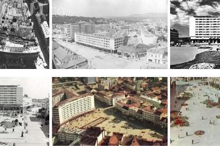 Piața Mihai Viteazu se modernizează: Problemele MAJORE ale acestui spațiu: TRAFICUL și haosul arhitectural din zona Halei