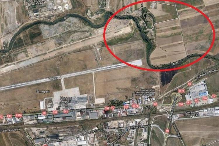 Devierea Someșului pe 9 km costă 24 de milioane de euro. Investiția este VITALĂ pentru pista de 3.500 de metri, dar Bucureștiul nu ne dă niciun BAN