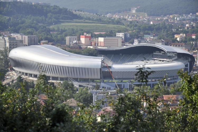 """Cluj Arena luptă pentru TITLUL de """"Clădirea anului 2012"""" în lume. VOTEAZĂ AICI"""