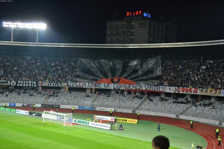 Când se joacă U Cluj - Steaua și Vaslui - CFR Cluj