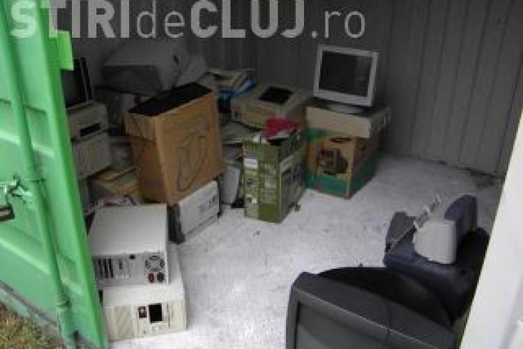 Cluj: Acţiune de colectare a deşeurilor de echipamente electrice şi electronice. VEZI locațiile