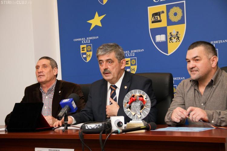 Doroftei a sosit la Cluj: Căutăm un boxer care să câştige medalia de aur la Jocurile Olimpice de la Rio - FOTO
