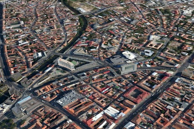 Cum s-a schimbat Piața Mihai Viteazu din 1600 și până acum. Imagini DOCUMENT - FOTO