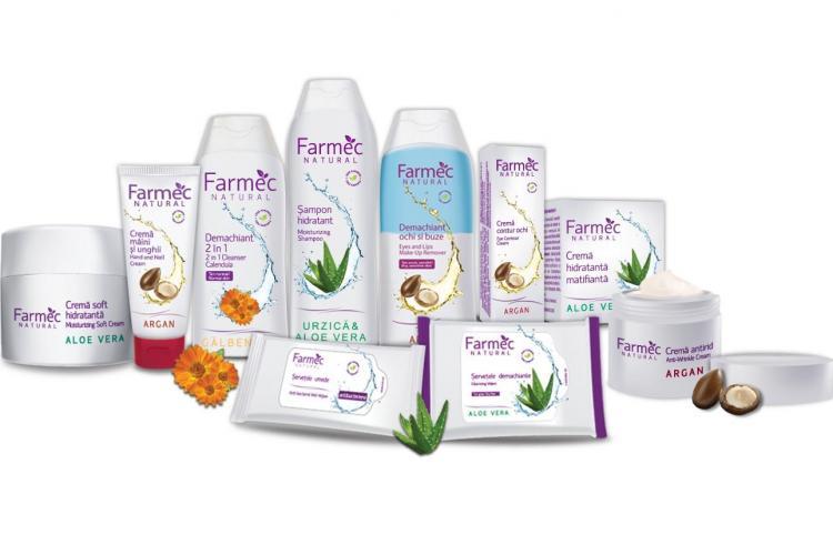 Gălbenelele, Arganul şi Aloe Vera - vedetele noii game Farmec Natural