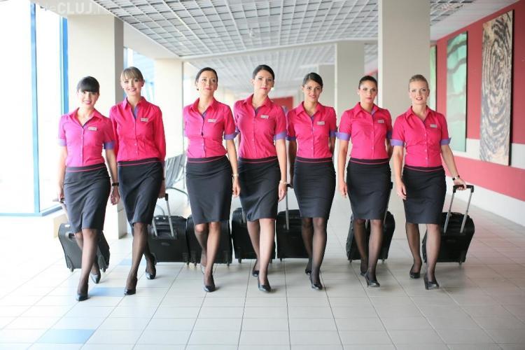 Companie aeriană recrutează la Cluj însoțitori de bord