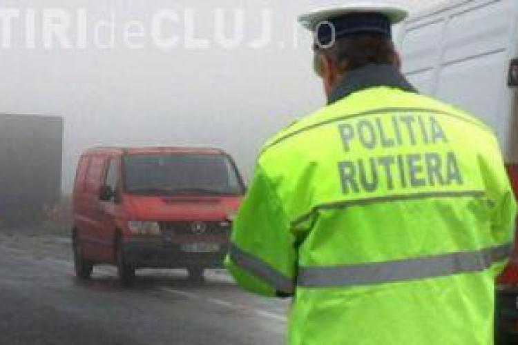 Amenzi de 84.000 de lei aplicate de polițiștii din Cluj într-o singură zi