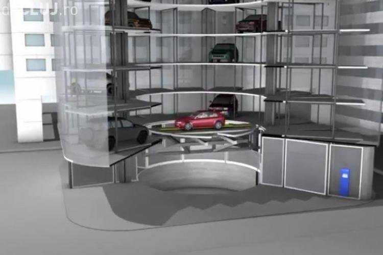 Unde pot fi amplasate parkinguri subterane cu lift în Cluj-Napoca - VIDEO