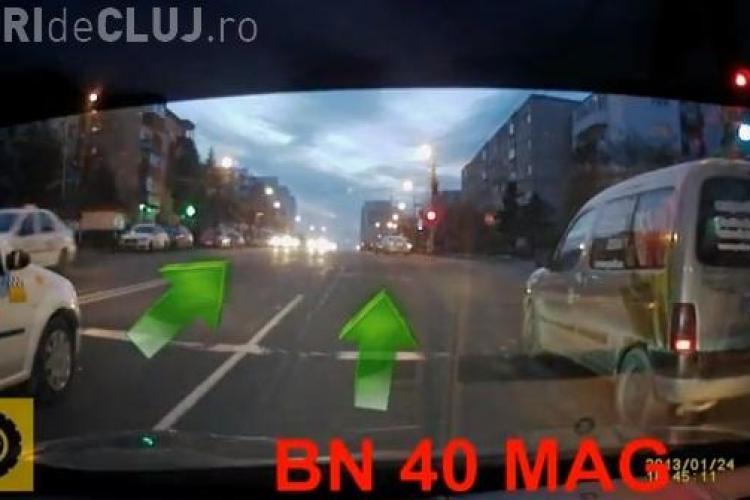 """Șofer de la florăria Magnolia, acuzat de """"mitocănie urbană"""". VEZI cum se contrează în trafic cu un alt șofer - VIDEO"""