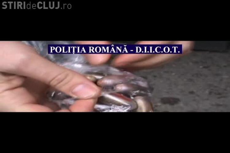Rețea de traficanți de droguri, destructurată de polițiști. Cannabisul era vândut și la Dej - VIDEO