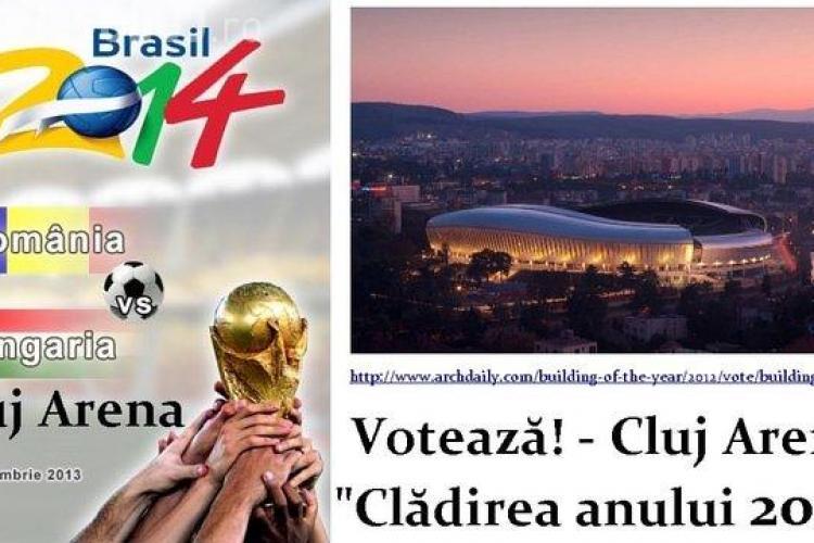 """România - Ungaria pe Cluj Arena - """"Clădirea anului 2012"""" - SEMNEAZĂ PETIȚIA"""