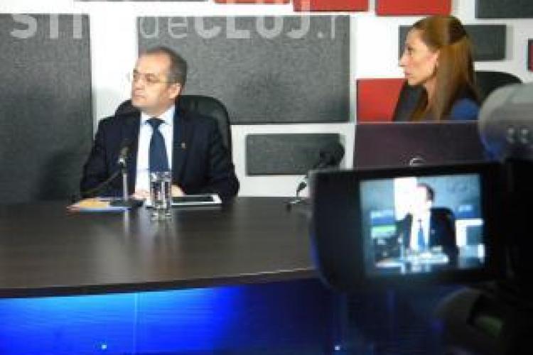 Emil Boc invitat la emisiunea Știri de Cluj LIVE, joi seara, de la ora 19.00. VEZI EMISIUNEA ÎNREGISTRATĂ
