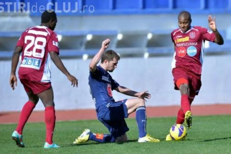 CFR Cluj a făcut egal cu Young Boys Berna, scor 1-1