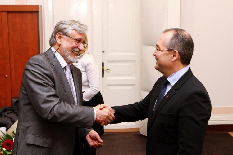 Boc l-a primit pe ambasadorul Lituaniei