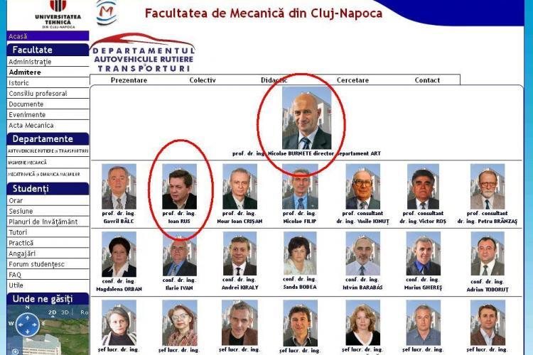 Milioane de lei pentru profesorul clujean care a stabilit că Ponta nu a plagiat. Profesorul Nicolae Burnete este şeful lui Ioan Rus