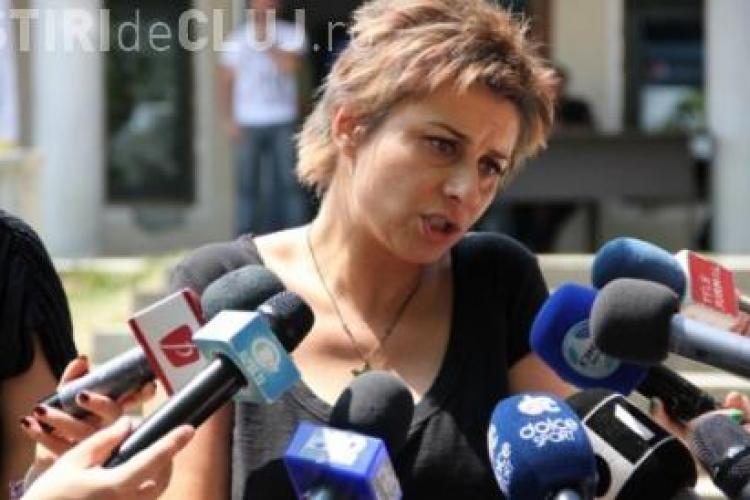 """Anamaria Prodan, sătulă de România din cauza insolvenței """"U"""" Cluj"""