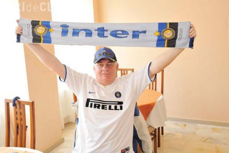 Masorul U Cluj, îndrăgostit de INTER: Sarut ecranul cand Inter dă gol. Ce pronostic are pentru meciul cu CFR Cluj