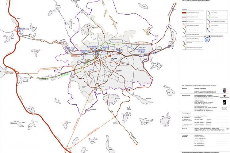 Cum se leagă Cluj-Napoca de Autostrada Transilvania. VEZI propunerile arhitecților - EXCLUSIV