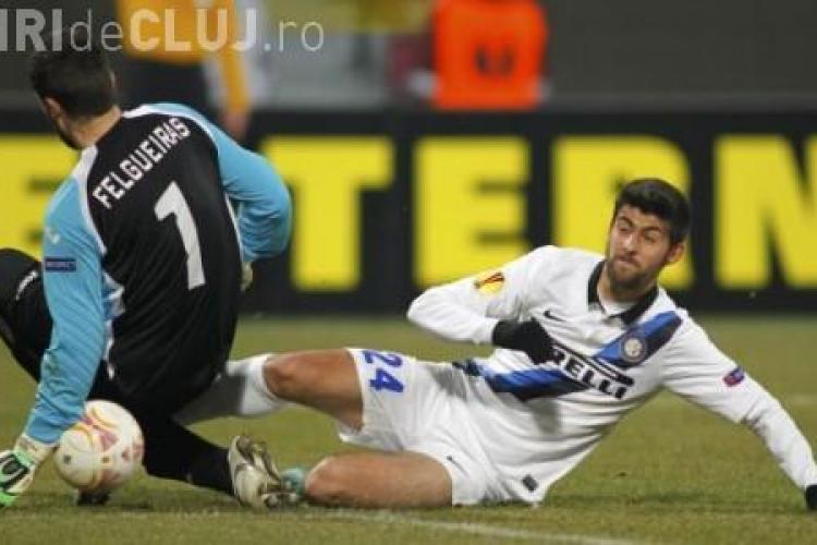 De ce crede Felgueiras că are o VINĂ la EȘECUL CFR Cluj cu Inter