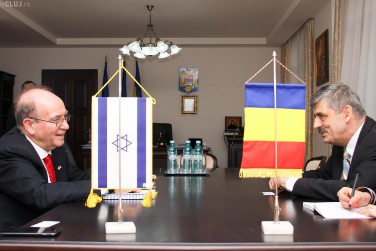 Ambasadorul Israelului, primit de Horea Uioreanu - FOTO