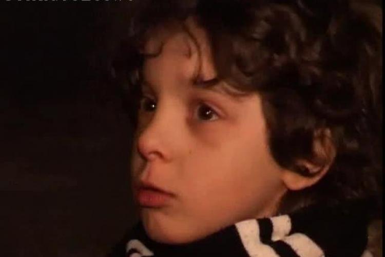 Copil de 7 ani, suporter U Cluj, acuză că a fost dat cu spray lacrimogen de jandarmi - VIDEO