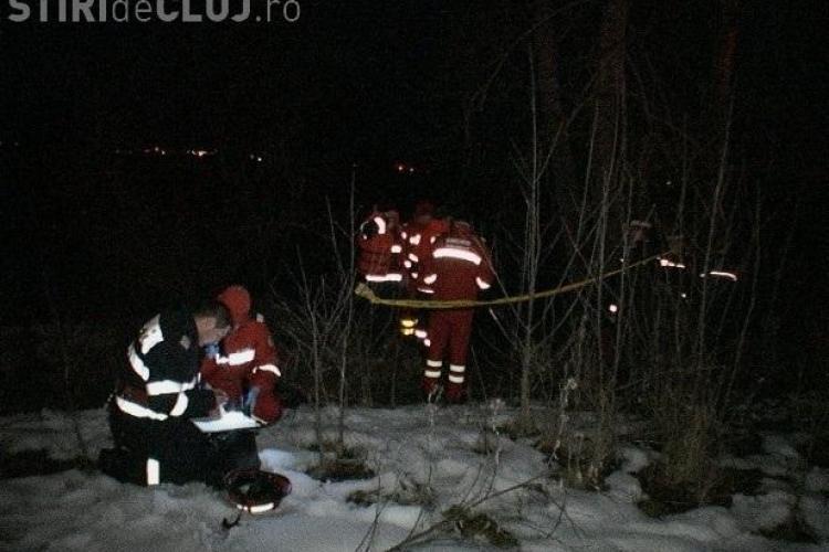 Persoană înecată la Dej, în Someș - VIDEO