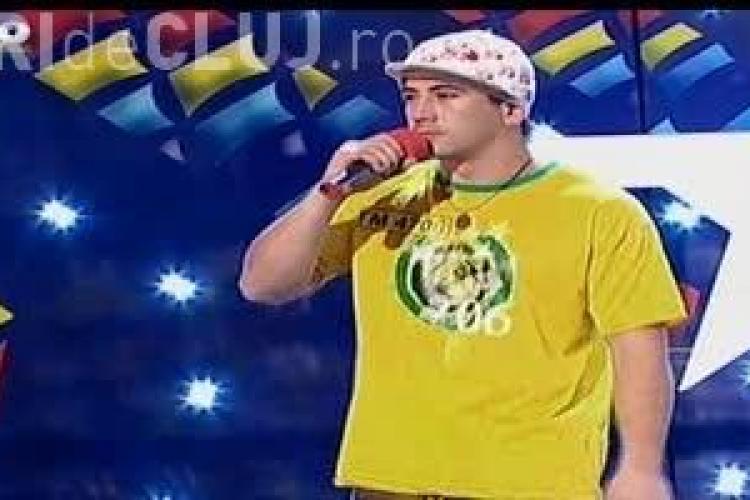 ROMÂNII AU TALENT. Florin Ţurca rapperul infractor. A cântat despre mama lui - VIDEO