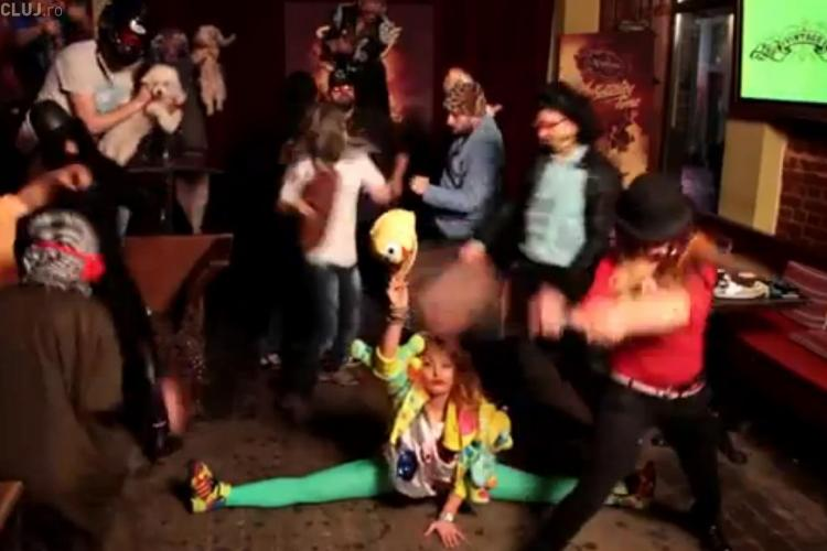 Delia Matache a dansat Harlem Shake - VIDEO