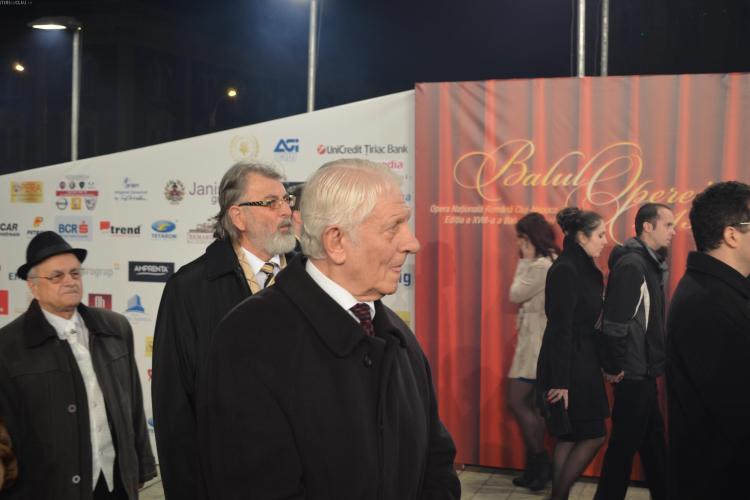 Arpad Paszkany e Seniorul Cetății Cluj. Remus Câmpeanu a fost și el premiat la Balul Operei
