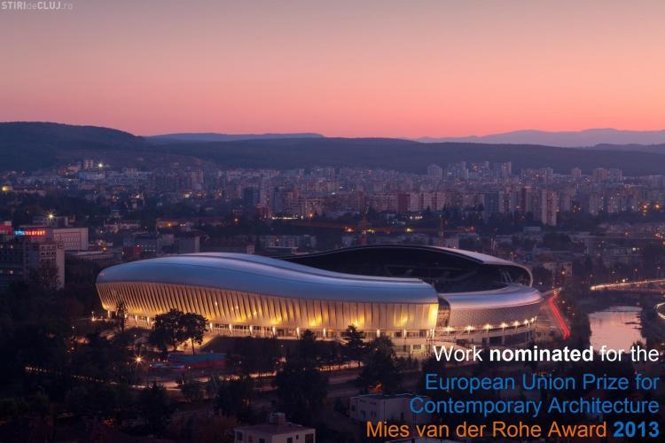 """Cluj Arena se luptă pentru titlul """"Clădirea anului 2012"""" în lume. VOTUL a început"""
