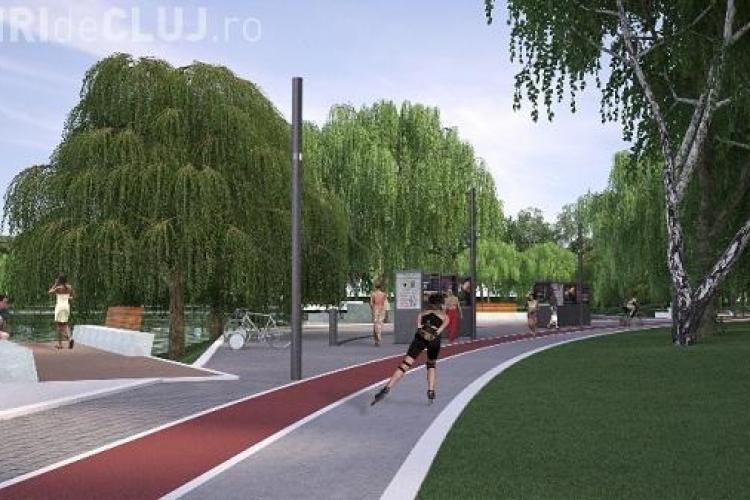 Lacul din Gheorgheni va fi modernizat. Iulius Mall a primit acceptul de a construi și 2 clădiri de birouri