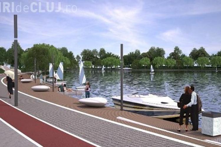 Sens giratoriu la Iulius Mall Cluj. Firma va fi obligată de Primărie să amenajeze lacul din Gheorgheni, dacă vrea să se extindă