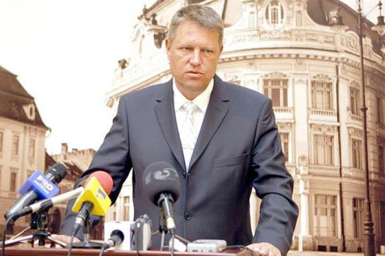 Primarul Sibiului, Klaus Iohannis, se înscrie în PNL