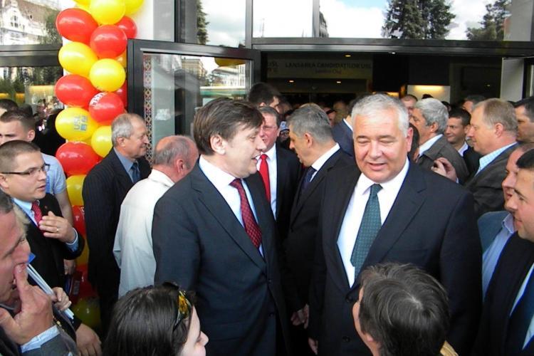 PNL Cluj susține candidatura lui Crin Antonescu la șefia partidului