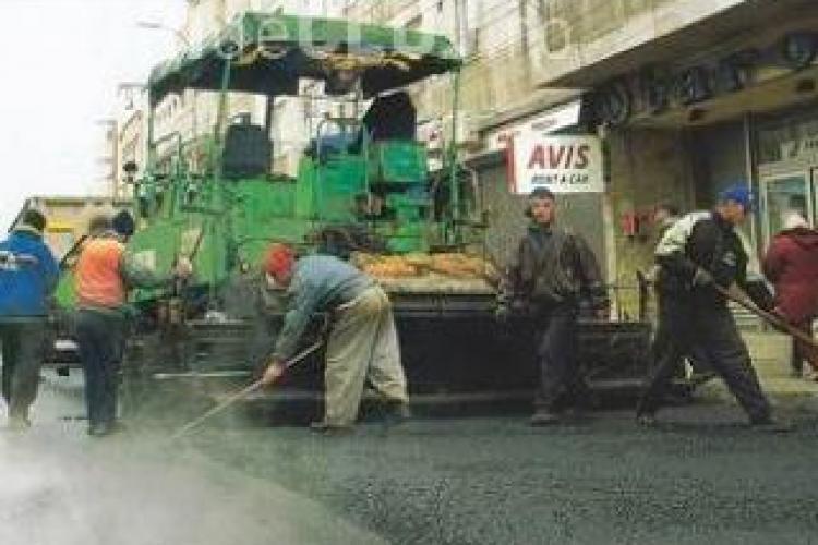Ce străzi se asfaltează, în 2013, în Cluj-Napoca