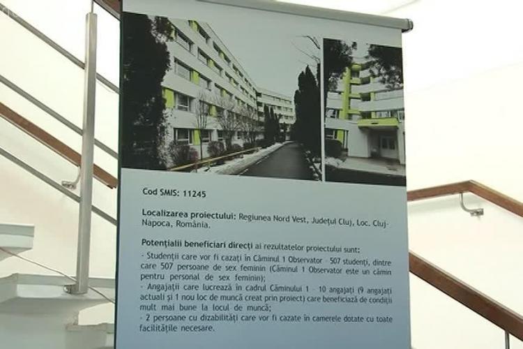 UMF Cluj a inaugurat căminul 1 din campusul Observator - VIDEO și FOTO