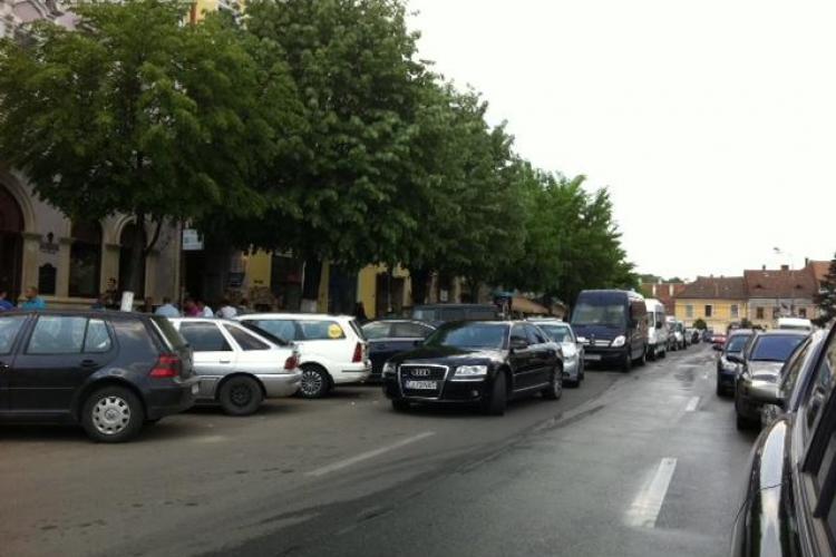 PSD Cluj propune limitarea timpului de parcare în centrul Clujului la cel mult două ore