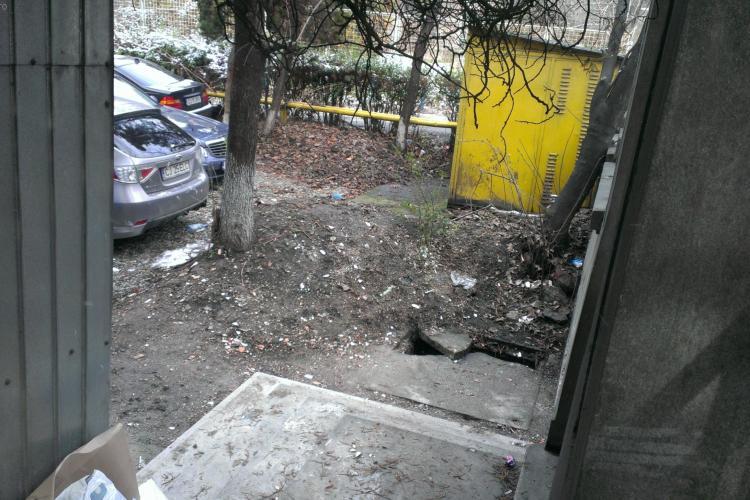 """Stiri de Cluj a facut """"curățenie"""" în parcarea lui Lucan - FOTO"""