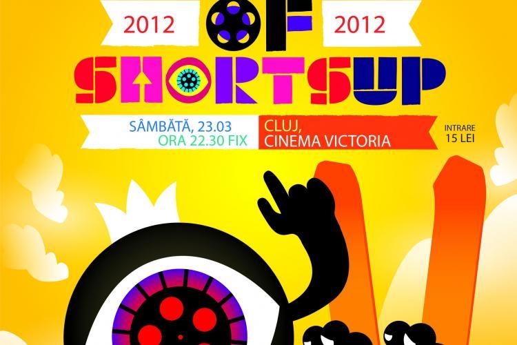 ShortsUP revine la Cluj sâmbătă, 23 martie, cu cele mai premiate scurt metraje din 2012